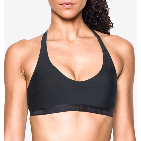 a35d21c8a6795 Under Armour Low Impact Dark Gray Sports Bra